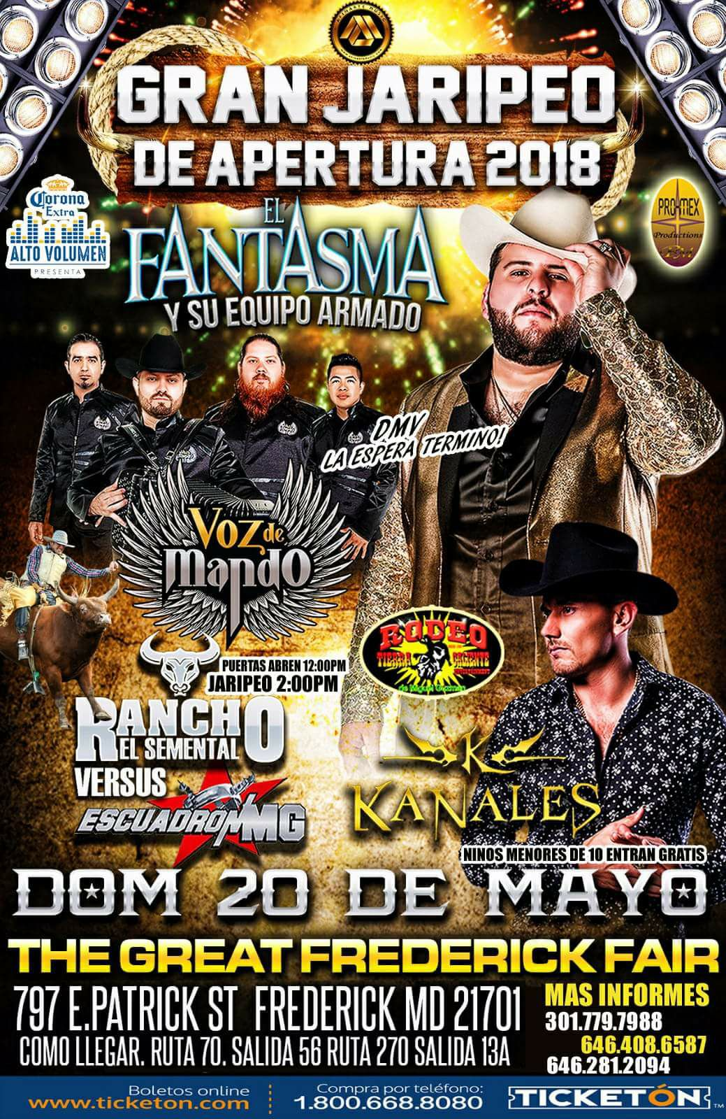 Super Jaripeo con El Fantasma | Rodeo Tierra Caliente MG